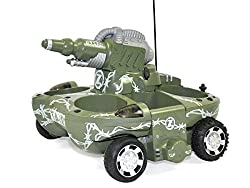 Sn Toy Zone Mphibious 3 In 1 Tanker/Boat/ Car And Landing Craft (Works On Land And Water)