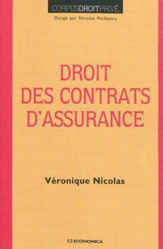 Droit des contrats d'assurance