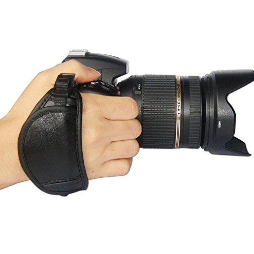 First2savvv OSH0701 NEW Professionelle Leder Hand Grip Kamera Handschlaufe für Nikon D700 D300s D3X D3S D800 D800E D3200 D4 D600 D5200 COOLPIX P7100 P510 L310 L810 P520 L820 F6 D7100 L320 Canon EOS 1100D 500D 550D 600D 60D 7D 5D Mark II EOS-1D X EOS-1D Mark IV EOS 1V PowerShot SX40 HS EOS 60Da 5D Mark III 650D EOS 300D G1 X EOS EOS-1D C EOS 6D OLYMPUS SP-510 UZ SP-820UZ SP-620UZ E30 E5 E620 E450 E-M5 E-M1 (Kamera D5200 Handschlaufe Nikon Für)