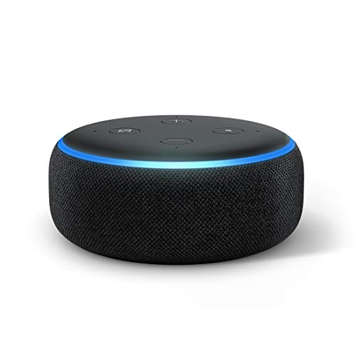 Echo Dot (3rd Gen) - New and improved smart speaker with Alexa (Black)