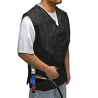 Allegro Industries 8300‐01L Vortex Cooling Vest, 200 lb, One Size, Black