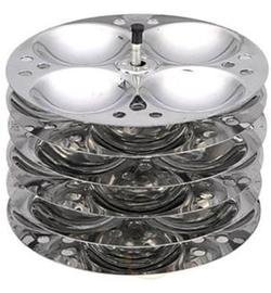 Stainless Steel Indian Idli (Rice Cake) Steamer 5...