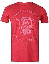 Marvel Men's First Avenger T-Shirt