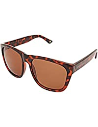 Foster Grant UV Protected Rectangular Men's Sunglasses - (FOSTER GRANT 22395 TOR BROWN POL|55|Brown Color)