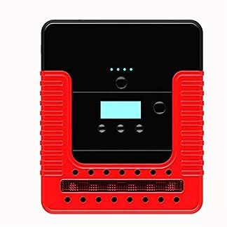 Arrancador de Coches Powerbank Jump Starter 300A 12000mAh 12V (hasta 6, 0L Gasolina o 4, 0L Diesel), IP68 Impermeable con Pantalla LCD Bomba de Aire Carga Rápida USB Linterna LED