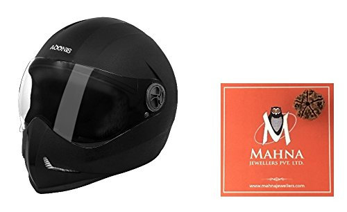 Steelbird Open Face Helmet (Black)  available at amazon for Rs.885