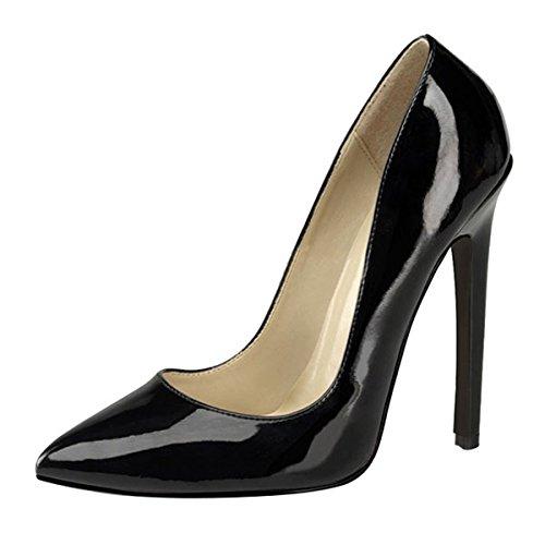 X0r7p Femme Heels Escarpins Perfect Noir Pour w4qnZBx