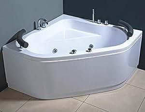 Vasca Da Bagno Quadrata 150x150 : Vasca da bagno da appoggio ovale in solid surface space