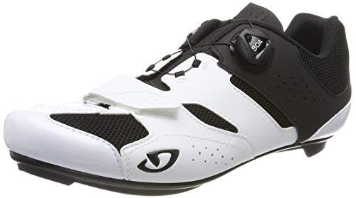 Giro Herren Savix Radsportschuhe-Rennrad, Mehrfarbig (White/Black 2), 43 EU
