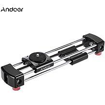 Andoer GT-V250 Mini Manual Guía de Slider Track de Video 365mm Doble Distancia de Deslizamiento para GoPro Acción de Cámara Cámara de Bolsillo Mini cámara SLR
