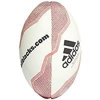 buy online f0c7f 5a905 adidas - Balón de Rugby de la Unión de Nueva Zelanda, Color Blanco ...