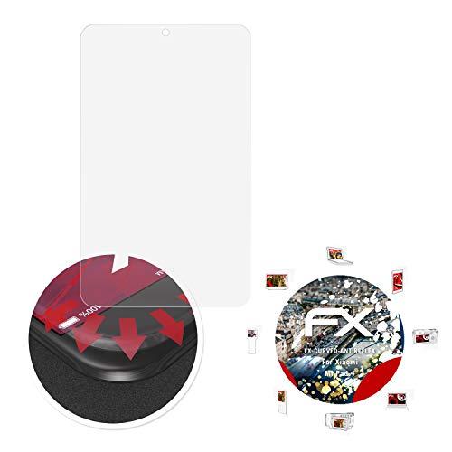 atFolix Schutzfolie passend für Xiaomi Mi Pad 4 Folie, entspiegelnde & Flexible FX Bildschirmschutzfolie (2X)
