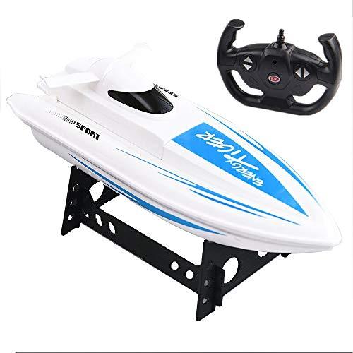 ACOC Ferngesteuerte Boote, RC Boot, Motorboot Ferngesteuert Mit,High Speed Boot Mit Funkfernsteuerung, Batteriebetrieben, Spielzeug Für Kinder, Das Boot Für Pools Und Seen