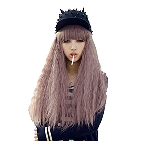 "70cm/27.5"" Cosplay Costume Wigs Perruque Lolita Longue Boucles Ondules Anime Halloween Party Cheveux, M7-012-LP"