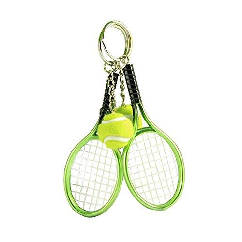 Da.Wa portachiavi mini racchetta da tennis forma portachiavi ciondolo bag Holder Clip portachiavi borsetta portamonete portachiavi organiser Gift