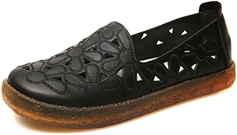 ZHRUI Zapatos de Tacón A198 Mujer Primavera y Verano PU Bowknot Sandalias Tacones Banquete Ceremonia de la Boda... -