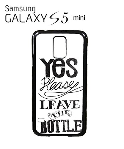 Yes Please Leave The Bottle Funny Pub Bar Mobile Phone Case Samsung Note 3 White Blanc