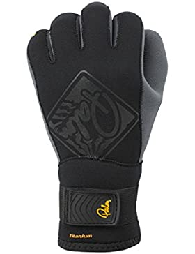 Palm 2013 NA820 - Guantes de neopreno con dedos arqueados para kayak, 3 mm, color negro Talla:small