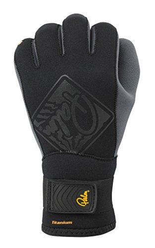 Palm Kajak oder Kajak - 3MM Haken NeoprenWetsuit Kayak Handschuhe Schwarz - Geringeres Gewicht 2mm Neopren verbesserte Kontrolle