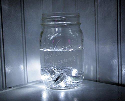 kelaina 8pcs velas LED de té florero batería luz para fiestas diseño de flores (morado)