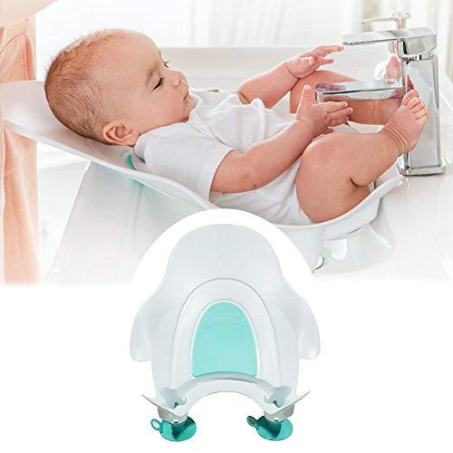 Per Asiento para Bañera Bebés de Lavabo Bañera Portátil para Lavar Caderas con Ventosa de Fijar...