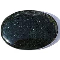 Groß, Grün Goldstone-Palmstone–7cm x 5cm preisvergleich bei billige-tabletten.eu