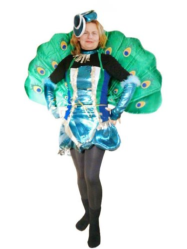 Pfau Kostüm Herren - Pfau-Kostüm, To53 Gr. M-L, Pfau-Faschingskostüme für