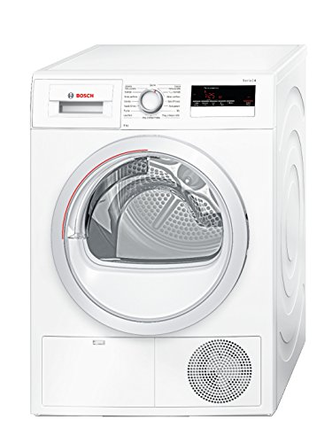 Bosch Serie 4 wth85208it Independent Front Loading 8 kg A + + White - Tumble Dryer (Freestanding, Front Loading, Condensation, A + +, White, B)