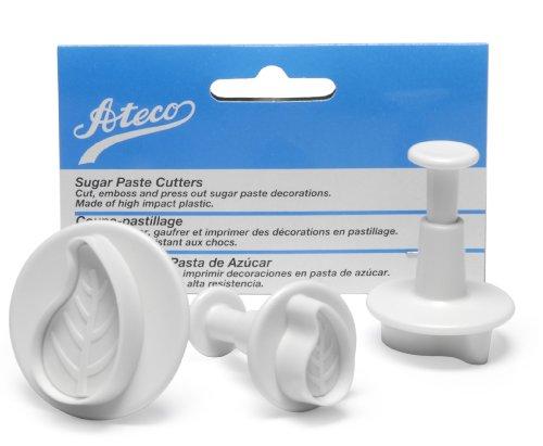 Marque : Ateco Set Plunger/Coupe recourbée feuilles Ateco-set