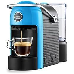 Lavazza jolie Espresso Machine 0.6L 1tasses Noir, Bleu-Cafetière (autonome, semi-automática, combine Coffee Maker, Lavazza A Modo Mio, Coffee Capsule, Noir, Bleu)