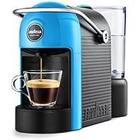 Lavazza jolie Espresso Machine 0.6L 1tasses Noir, Bleu–Cafetière (autonome, semi-automática, combine Coffee Maker, Lavazza A Modo Mio, Coffee Capsule, Noir, Bleu)