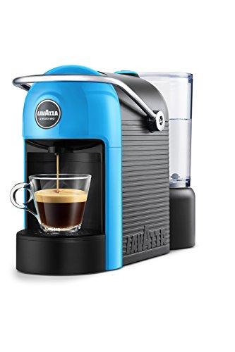 Lavazza Jolie Independiente Semi-automática Máquina de café en cápsulas 0.6L 1tazas Negro, Azul - Cafetera (Independiente, Máquina de café en cápsulas, 0,6 L, Cápsula de café, 1250 W, Negro, Azul)