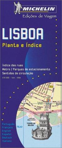 Plan de ville : Lisbonne