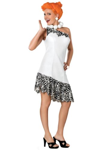 Plus Size Wilma Flintstone Costume for Women