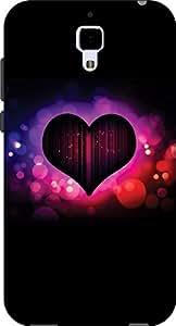JOHN RICHARD_ HIGH QUALITY SILICON UV PRINTED BACK COVER FOR Xiaomi Mi 4 ARTIC...