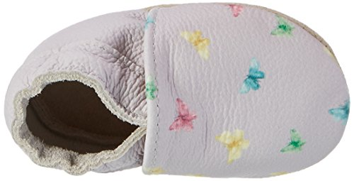 Rose & Chocolat Butterfly Print, Chaussures Marche Bébé Fille Violett (lilac)