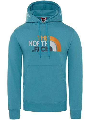 The North Face Drew Peak Felpa con Cappuccio Uomo Blu L