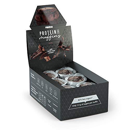 Prozis 12 x Protein Mini Muffins - Carob 30 g -