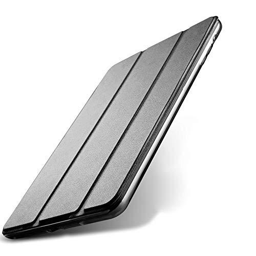 kenke iPad Mini Fall Silikon Weich Für iPad Mini Fall 20,1cm Zusammenklappbar Halterung mit Flexible Soft TPU für Apple iPad Mini 1, Mini 2Mini 3Cover, Schwarz (Typing Apple Mini Fall Ipad)