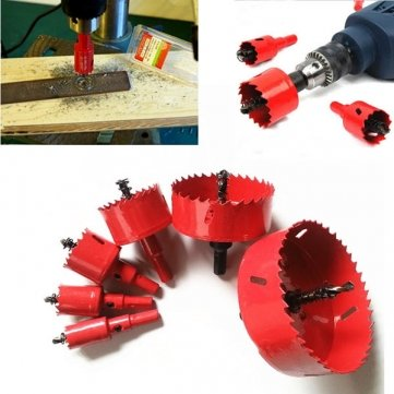 16-70mm M42 HSS Lochsäge Cutter Bohrer Bi Metall Tip Drill für Aluminium, Eisen, Holz (Metall Cut Saw)
