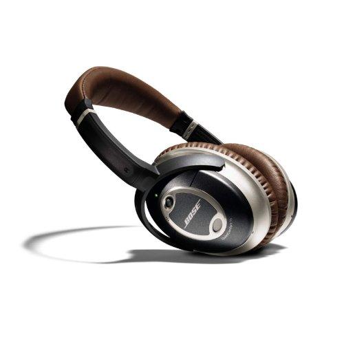Bose ® QuietComfort 15 Acoustic Noise Cancelling Kopfhörer schiefer/braun -