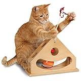 Tick Tock Teaser Katzenspielzeug, Beschäftigungsspielzeug