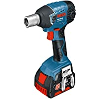 Bosch 18V Lithium-Ion Impact Wrench Complete with 2 x 4Ah Batteries