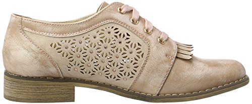 XTI - Nude Pu Ladies Shoes ., Scarpe basse Donna Pink (Nude)