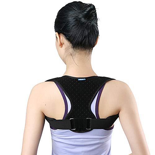 LINGYAO Rücken Aligner kann für atmungsaktiven Komfort eingestellt Werden Nicht schwül Körperhaltung Korrektor Schmerzlinderung Allgemeine Körperhaltung Orthese