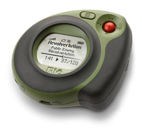 Rio Cali Green MP3-Player 256 MB portatile
