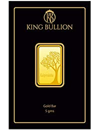 KING BULLION 5 gm, 24KT (999) Yellow Gold Bar