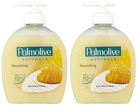 x2 Palmolive Naturals Milk & Honey Handwash
