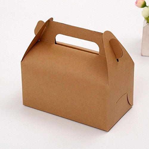 König Mango, 1Stück, ideal für die Kraft-6Zoll-Box tragbar Kraft-Geschenk-Ablage-Box - 6 Geschenk-boxen Zoll