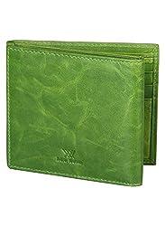 Aditi Wasan Green Mens Wallet